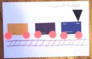train paint